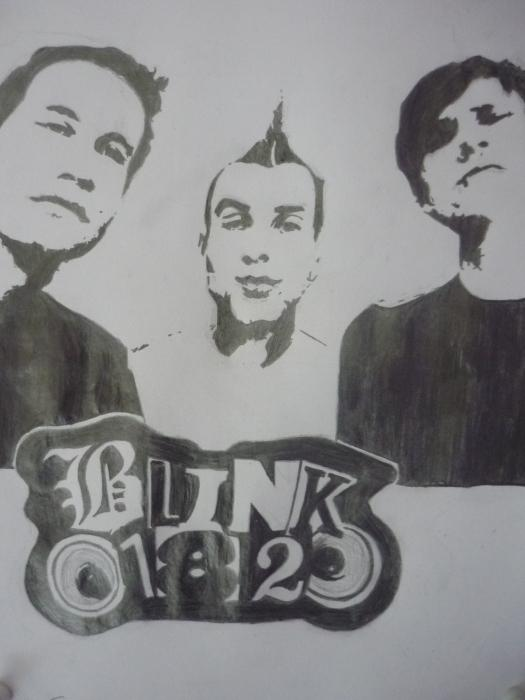 Blink-182 by carla_sp94